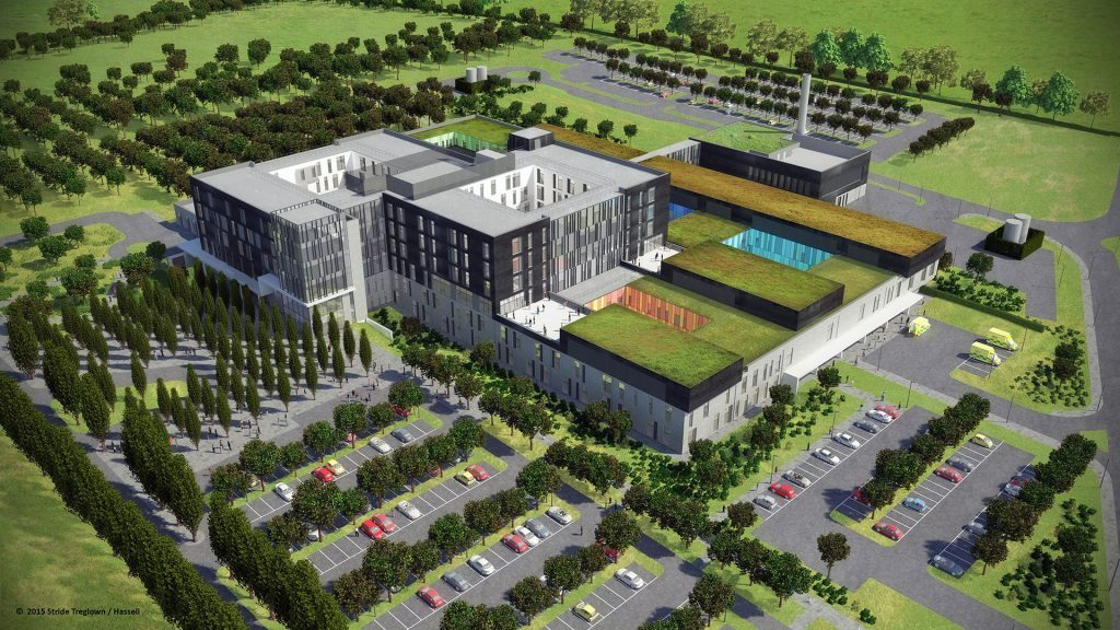 Hampshire Critical Treatment Hospital Town Planning