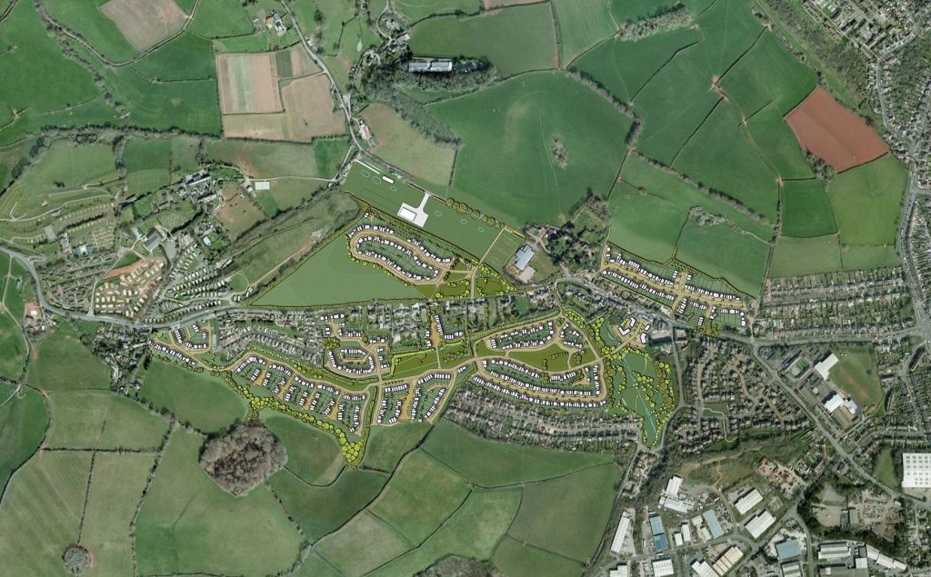 Collaton St Mary Town Planning