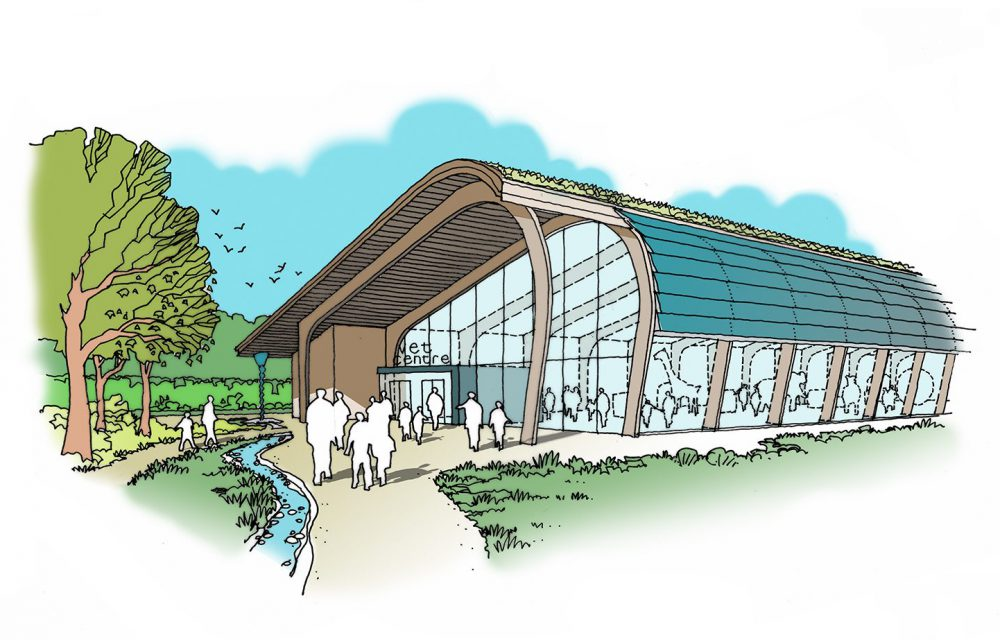 See the concept designs for Wild Place Project Centre of Excellence