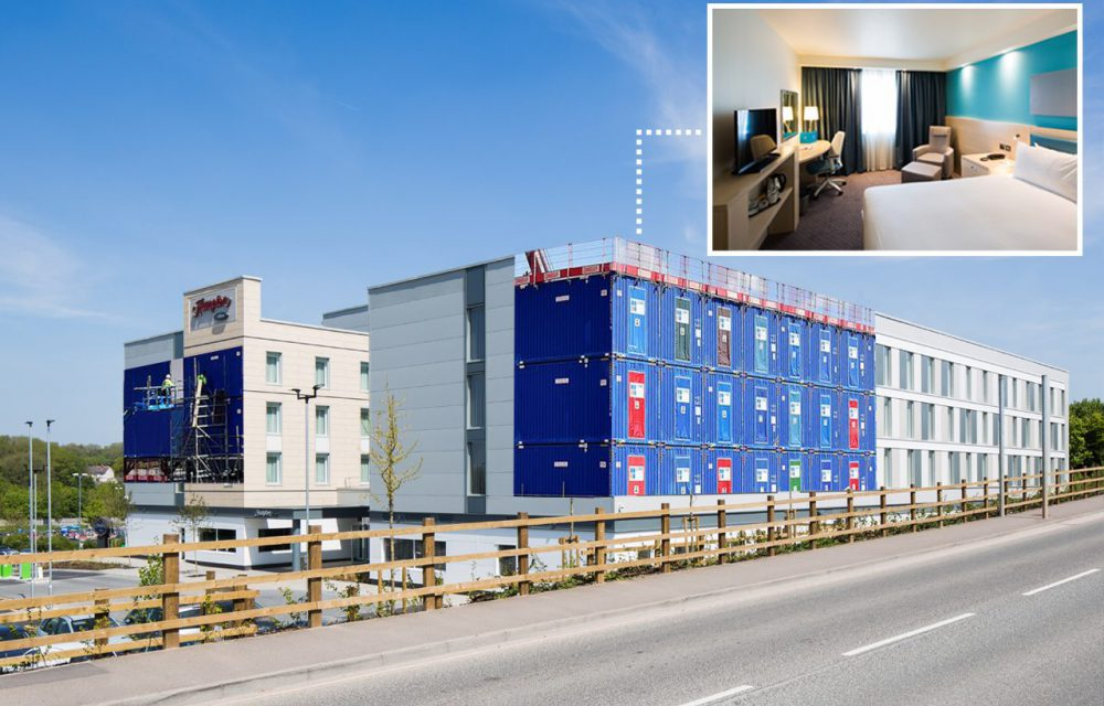 Hampton by Hilton shortlisted for Offsite Construction awards