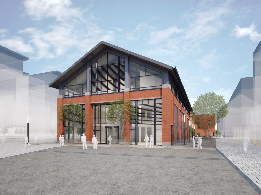 Library Building CGI