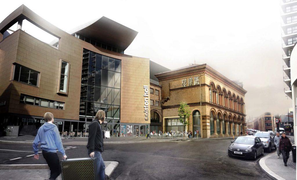 colston hall refurbishment phase II CGI
