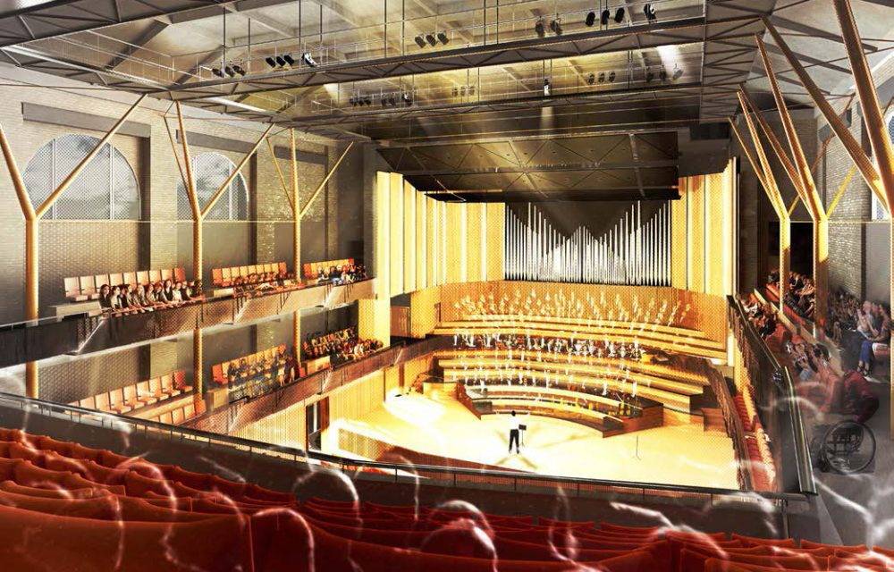 Planning for a revised Colston Hall