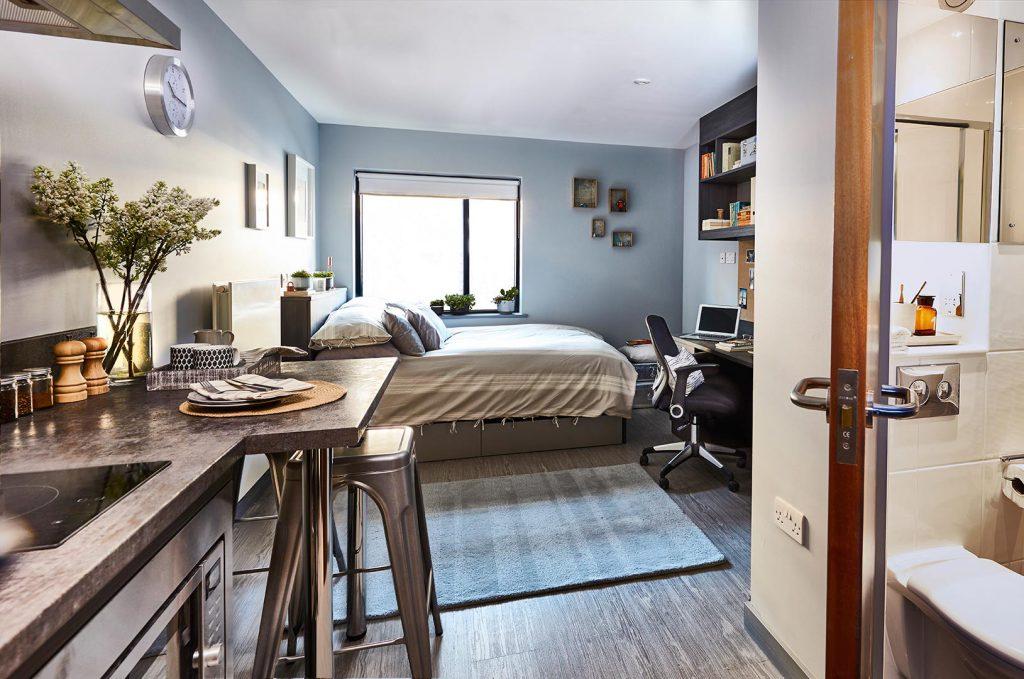 windsor house student bedroom