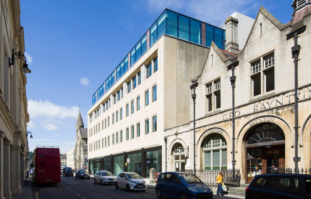 20 Manvers Street shortlisted for BCO and RICS awards