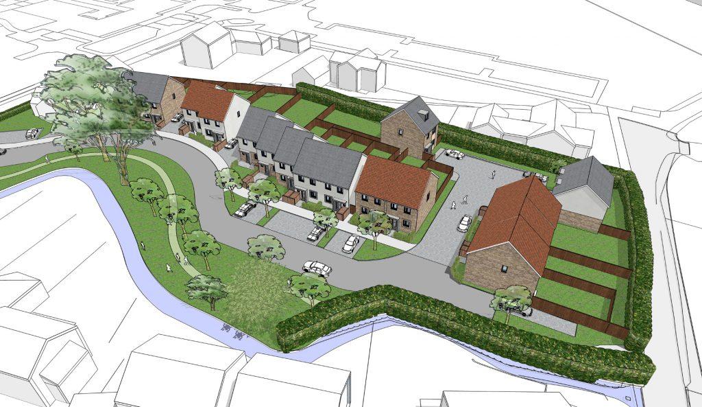 affordable housing scheme in midsomer norton