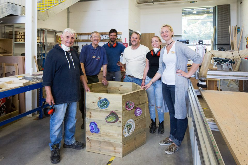 wood workshop at KWMC, Filwood Green Business Park