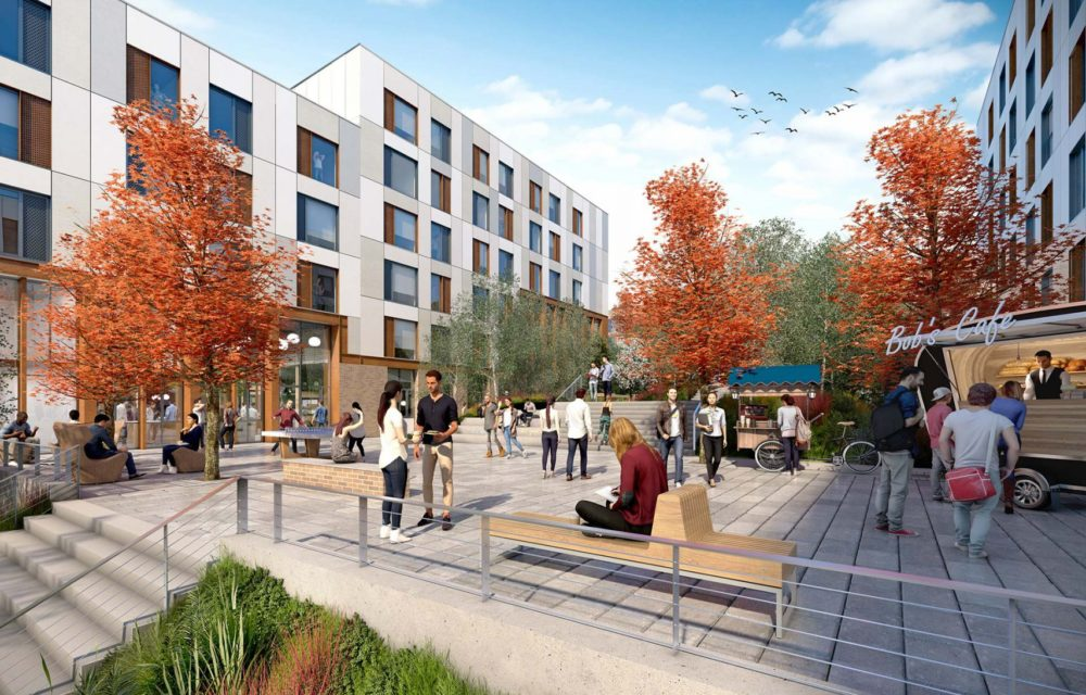 Stride Treglown working on University of Exeter student accommodation