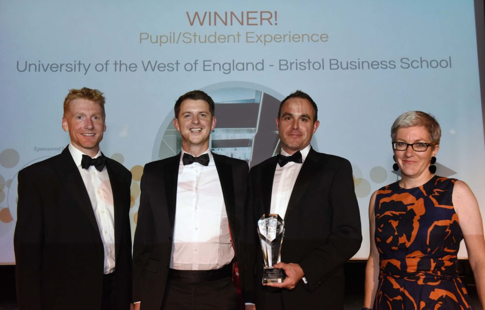 Bristol Business School wins best 'Student Experience' award