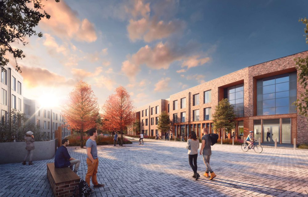 Planning permission granted for 1,182 student residences in Exeter