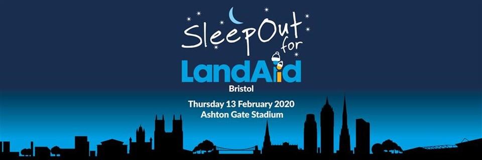 Braving the LandAid Bristol SleepOut