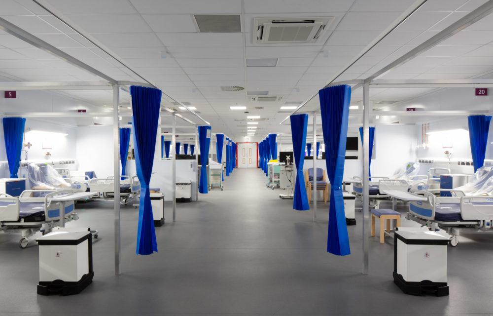 Award-winning hospital designed and delivered in 57 days